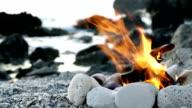 Fire on the Beach