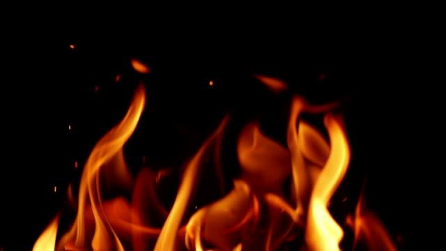 ENDLOS WIEDERHOLBAR ZEITLUPE: Fire
