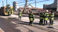 Firefighters are on the scene of a fire that was contained in Maplewood NJ