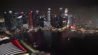 Firework at singapore city