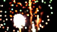 Firework Bokeh Full HD Video