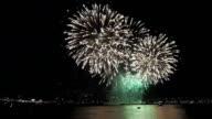 Firework display of the Seoul international firework festival at the Han river
