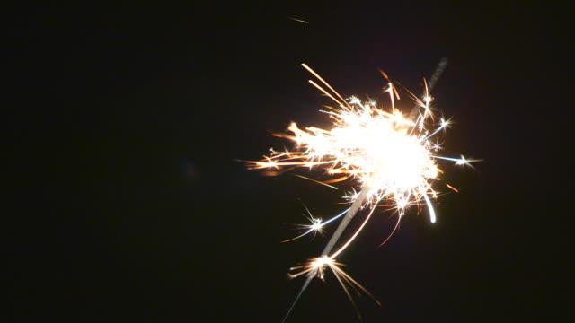 FULL HD - Firework sparkler burning