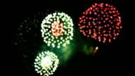 Fireworks bokeh.