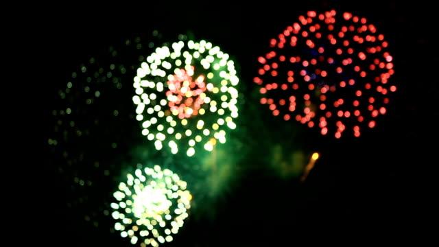 Feuerwerk bokeh.