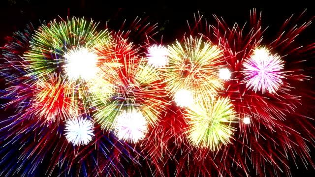 Fireworks Display new year