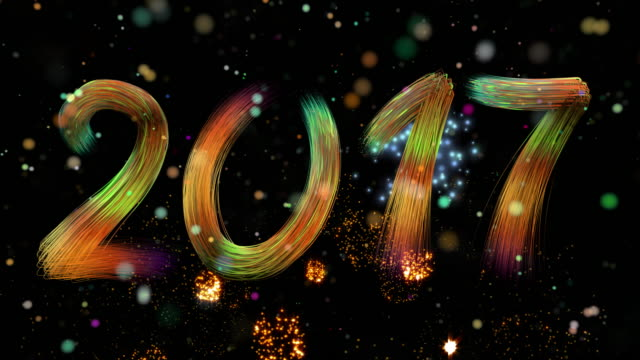 Vuurwerk, nieuwe jaar 2017