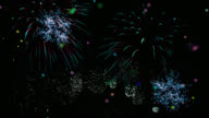 2018 Fireworks, New Year