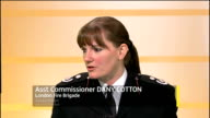 London GIR INT Assistant Commissioner Dany Cotton LIVE studio interview SOT talks of dangers of fireworks