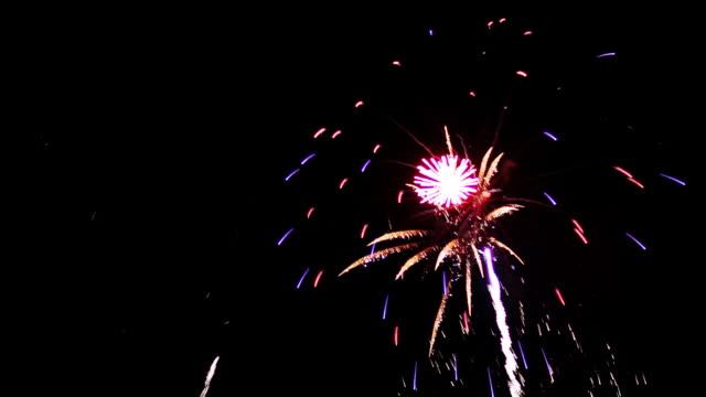 Feuerwerk-Sharp lebhaften saubere HD