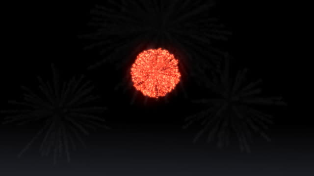 fireworks (after effects)