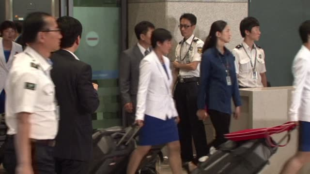 A first batch of North Korean athletes arrived in South Korea Thursday for this months Asian Games after taking a rare flight across the sensitive...