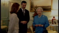 First Lady Asma alAssad's assets frozen by European Union LIB / TX London Buckingham Palace PHOTOGRAPHY** Bashar Assad and his wife Asma alAssad...