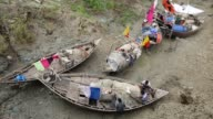 Fisherman repair net in Coastal area in Bangladesh on August 14 2017 Bangladesh a country which is ranked as one of the world's most vulnerable...
