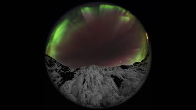 Fisheye Aurora over Iceland