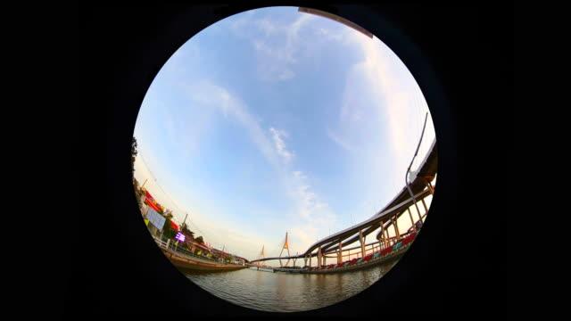 Fischaugen-Bhumibol 1-Brücke