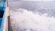 SLO MO Fishing Boat Cruising On She Sea