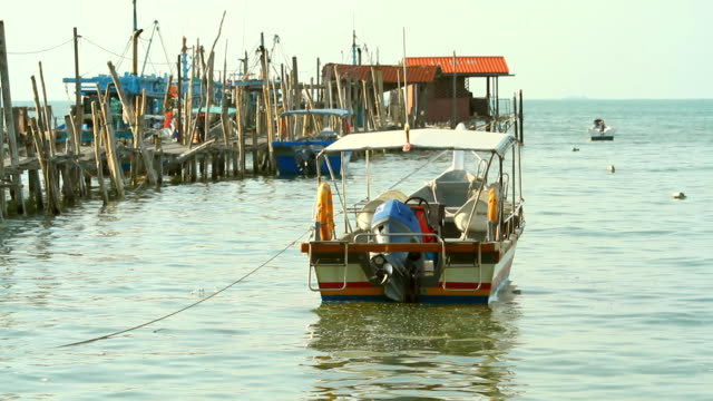 Fishing boat in the harbor