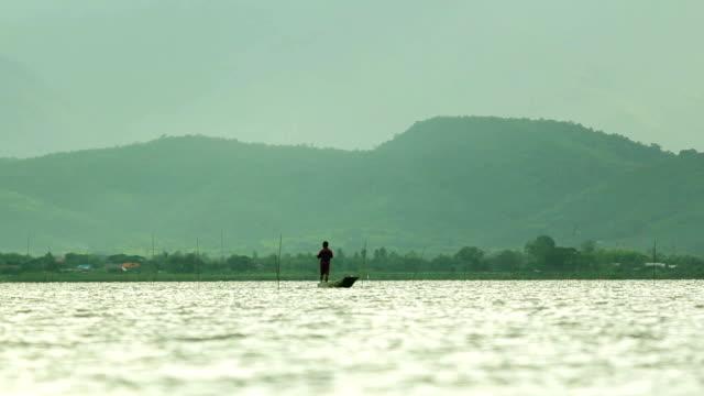Fishing On Kwan Phayao the Lake