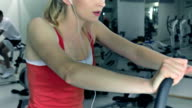 Fitness Fun on Exercise Bike