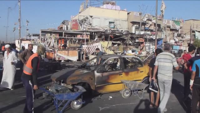 Five bomb attacks including four car bombings killed at least 30 people and wounded around 70 others Wednesday in several Baghdad districts Iraqi...
