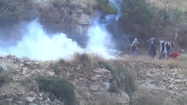 Five Palestinians were injured by live fire and tens of others suffered from suffocation as the Israeli army broke up a weekly protest in the town of...