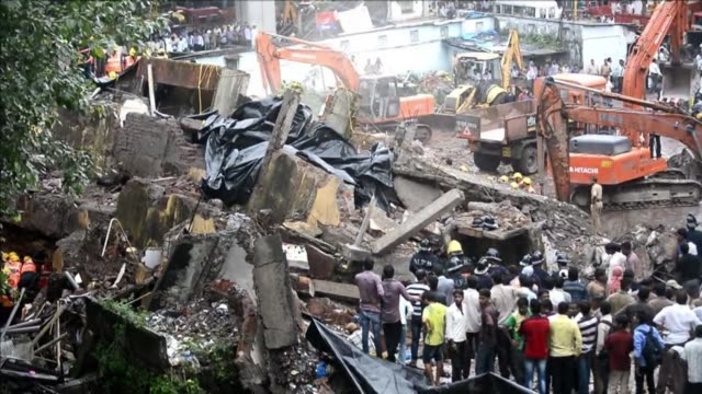 A fivestorey residential block collapsed in Mumbai at daybreak killing at least three people and leaving dozens feared trapped inside in the latest...