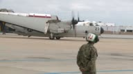 KSWB Fixed Wing Aircraft from the Vinson arrived in San Diego at the Naval Air Station North Island on June 3 2015 The crews of the plane known as...