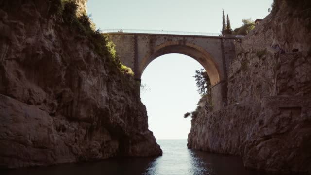 Fjord of Furore on Amalfi coast