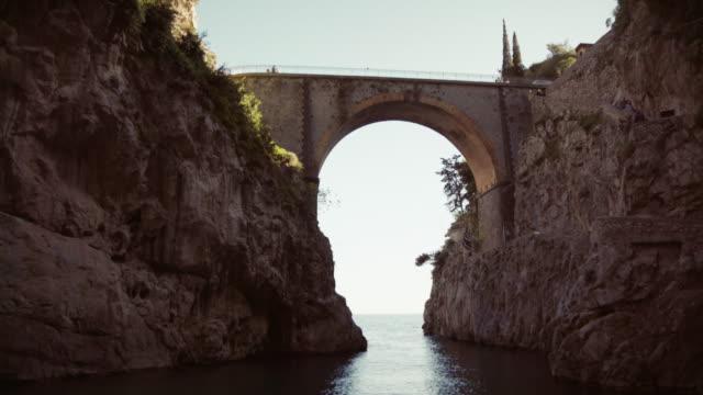 Fjord of Furore on Amalfi coast