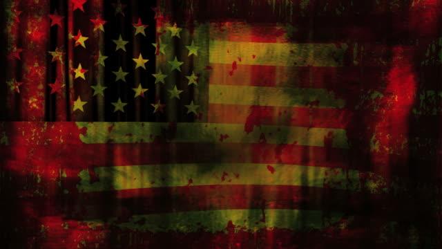 US flag burn too