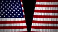 ABD Flag Curtain Cloth