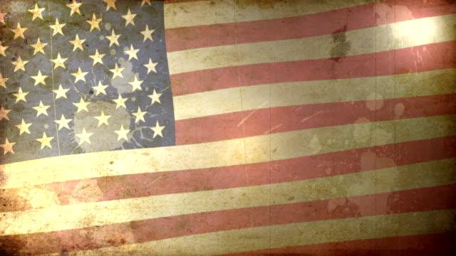 USA Flag - Grunge. HD