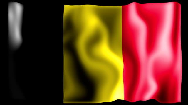 Belgium Flag Animation