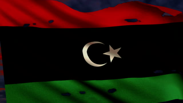 Flagge von Libyen, Kampf für Freiheit