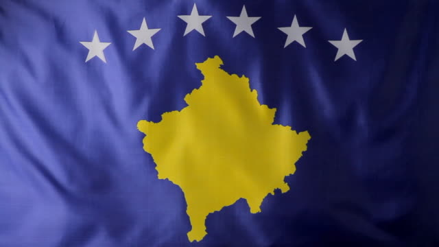 CU Flag of the Republic of Kosovo / Berlin, Germany