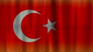 Flag of Turkey background (HD 720)