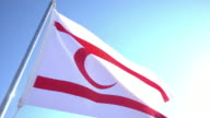 Flag of Turkish Republic of Northern Cyprus