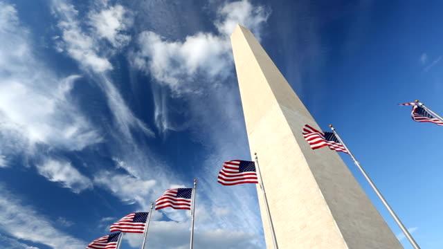 Vlaggen bij het Washington Monument