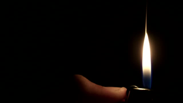 Flame From a Lighter