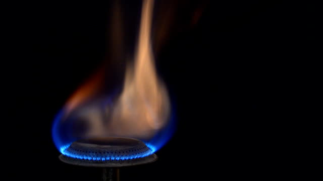 Flames Of A Gas Stove