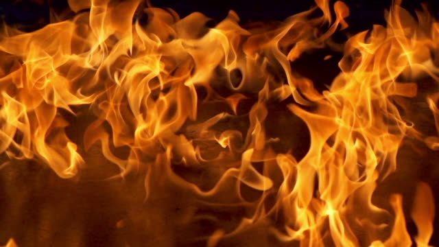 Flames Zeitlupe