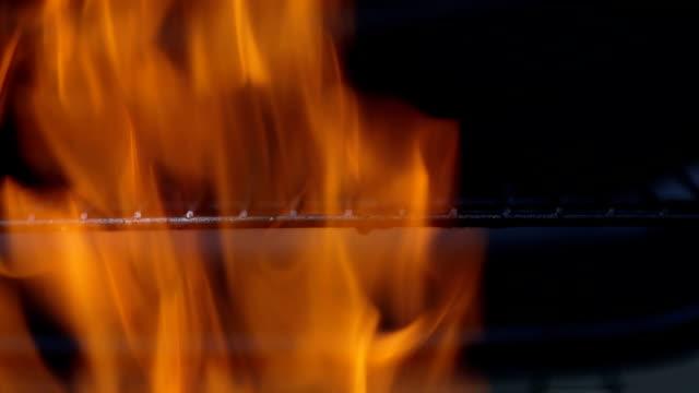 Flaming coal - Stock Footage
