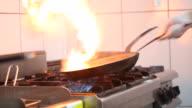 Flaming Stir Fry