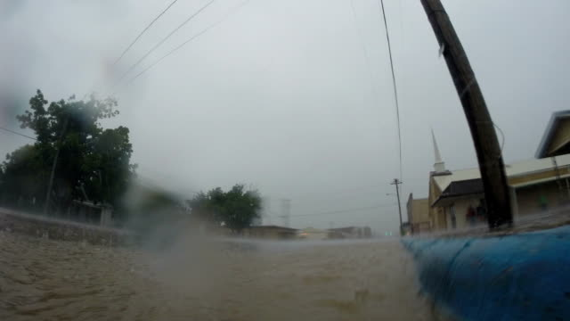 Flash Flooding In Texas - Timelapse Sequence