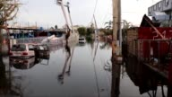 Flash floods bring fresh misery to Puerto Rico after its infrastructure was shattered by Hurricane Maria as President Donald Trump declared the US...