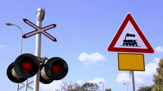 Blinken Railroad Signal. Sound