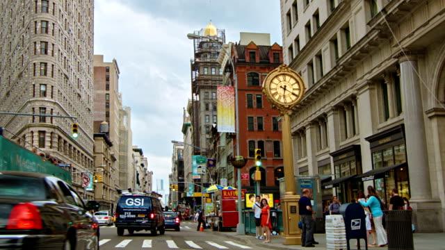 Flatiron gebouw in Midtown New York