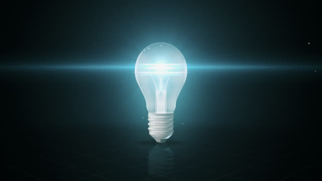 Flickering Light Bulb   4K
