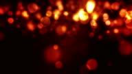 Flickering Particles Loop - Firey Red (HD)